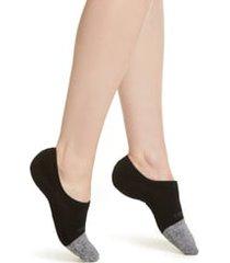 women's bombas cushioned no-show socks, size medium - black