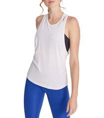 wildfox women's lightning muscle tank top - white - size xl