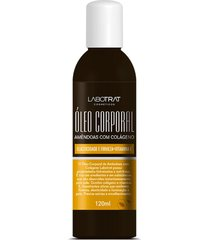 óleo corporal amêndoas com colágeno 120ml labotrat