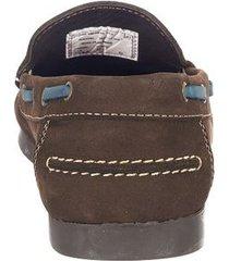zapato mocasin para hombre san polos 2010 café