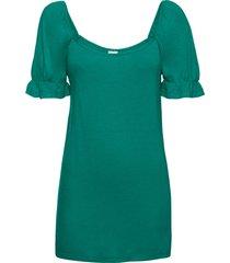 maglia con scollo quadrato (verde) - bodyflirt