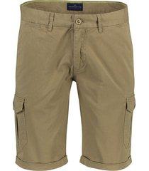 portofino worker shorts opgestikte zakken khaki