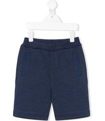 bonpoint piqué shorts - blue