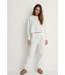trendyol carmen pyjamas set - offwhite