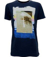 maglietta t shirt con stampa regular fit 'tintype 2'