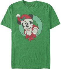 fifth sun men's mickey wreath short sleeve t-shirt