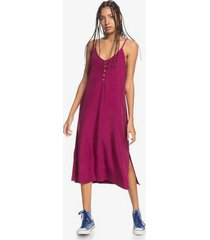 quiksilver womens coral spring strappy midi dress