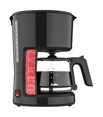 cafeteira eletrica cadence urban pop caf610 preto / vermelho 110v 110v