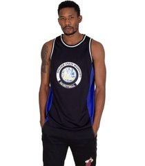 regata nba estampada golden state warrior preta - preto - masculino - dafiti