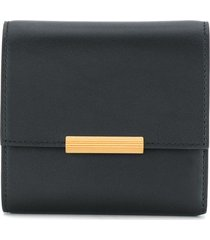 bottega veneta billfold mini wallet - black