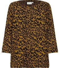 bonnie blus långärmad gul masai