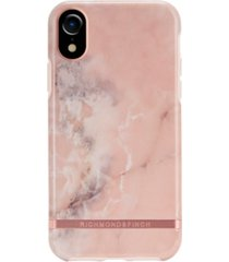 richmond & finch pink marble case for iphone xr
