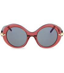 novelty 51mm round sunglasses