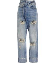 r13 cross over jeans