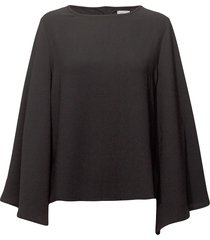 betty blouse lange mouwen zwart line of oslo