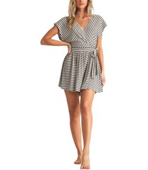 billabong juniors' easy day striped romper