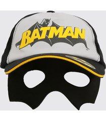 boné infantil máscara estampa batman liga da justiça
