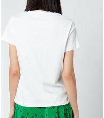 kenzo women's classic tiger classic t-shirt - white - l