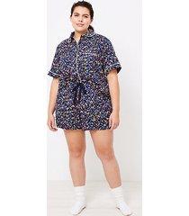 loft loft plus heart pajama shorts