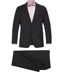 michael kors modern fit suit black