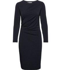trude dress knälång klänning blå inwear
