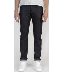 naked & famous denim men's weird guy - nightshade stretch selvedge jeans