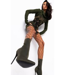 akira akira loose fit fish net tights