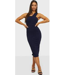 ax paris one shoulder midi dress fodralklänningar