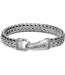 'asli classic chain' silver bracelet