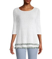 cruise fringe sweater