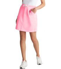 falda con cordón ajustable rosado esprit