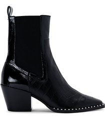 sabern leather chelsea booties