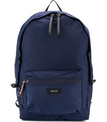 bally packable softshell backpack - blue