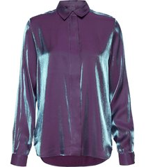 slfstacy-odette ls shirt b blouse lange mouwen paars selected femme
