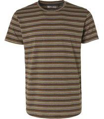 no excess t-shirt short sleeve crewneck multi offwhite