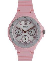 reloj  rosa casio