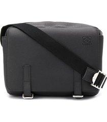 loewe military messenger bag - black