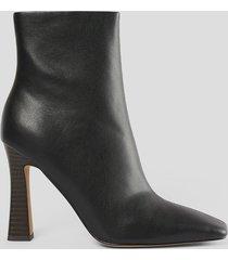 na-kd shoes högklackade skor - black