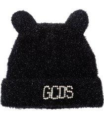 gcds black winter hat