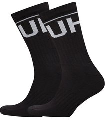 2p qs rib logo cc underwear socks regular socks svart hugo