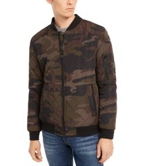 calvin klein men's quilted bomber jacket, created for macy's
