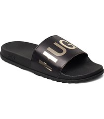 match_slid_l shoes summer shoes pool sliders svart hugo