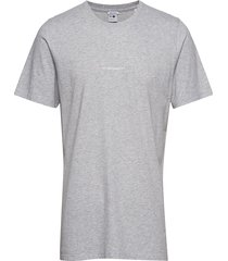 ethan print tee 3208 t-shirts short-sleeved grå nn07