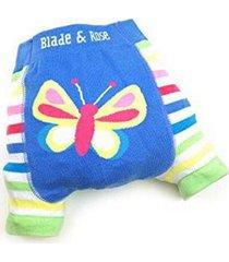 shorts borboleta blade and rose infantil feminino