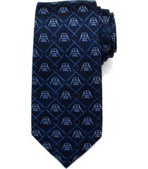 men's cufflinks, inc. 'darth vader' silk tie, size regular - blue