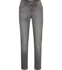 jeans elasticizzati straight (grigio) - john baner jeanswear