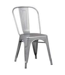 conjunto 02 cadeiras iron cinza rivatti