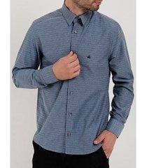 camisa social manga longa masculina