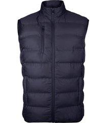 chaqueta termico sintetico sin costuras azul andesland