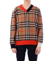 burberry tartan pullover